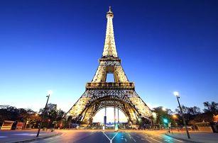 Paříž | Nejkrásnější místa s průvodcem | Hotel se snídaní v ceně | Eiffelova věž, Champs Elysées, Louvre a další