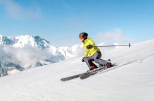 Lyžování v Alpách 2018