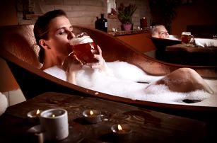 Pivo léčí: Otestujte na vlastní kůži v lázních