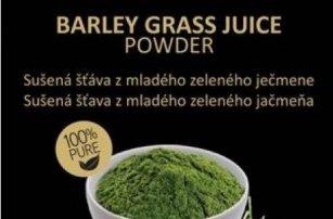 Vyzkoušejtezdravý osvěžující nápoj ze sušené šťávyz mladého zeleného ječmene a objevte blahodárné účinky na váš organismus.Na výběr varianta 200g nebo 500g.